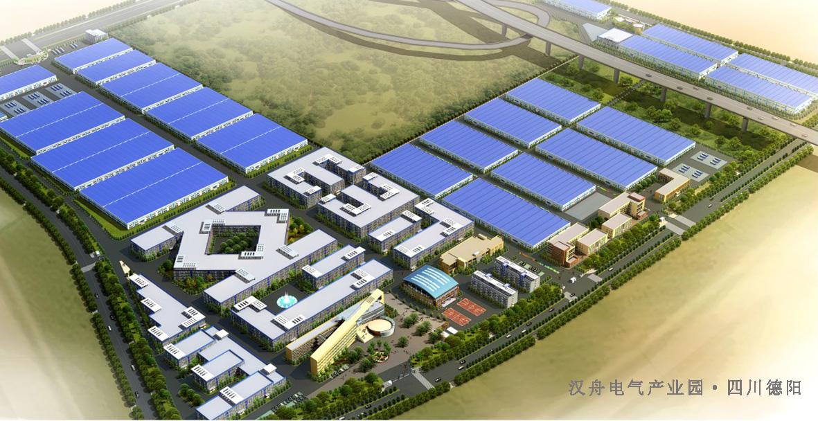 汉舟电气产业园 - 四川盛泰建筑勘察设计有限公司